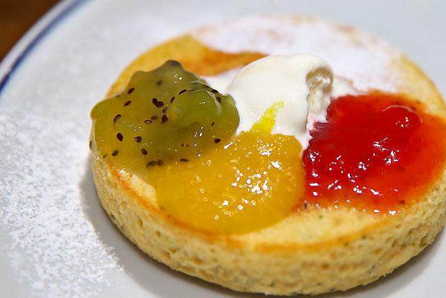 銀座ジンジャー-パンケーキとジャム2.jpg